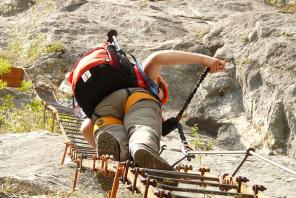 Klettersteig Traunstein : Tourengruppe 4 müller deutscher alpenverein sektion traunstein